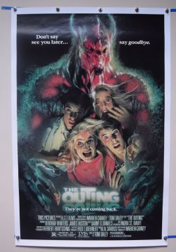 The Outing (1987) Horror Poster Deborah Winter - US One Sheet